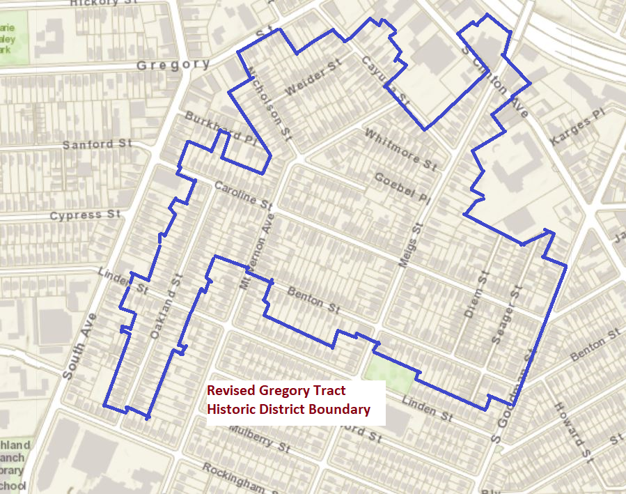Gregory Tract Historic District